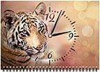 Квартальный календарь-часы